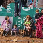 Syrian refugees in Beruit.
